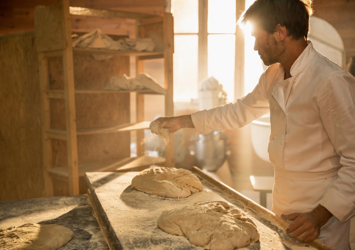 發明麵包的傳說